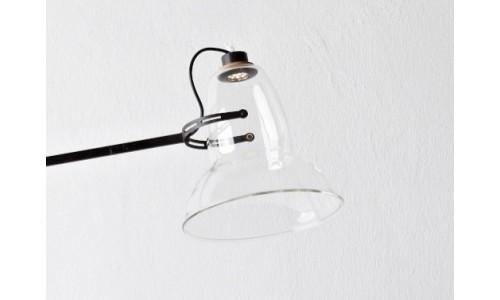 Настольная лампа с пустым плафоном