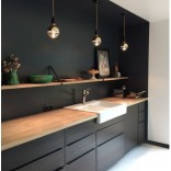 Кухня в чёрном цвете, 10 вдохновляющих примеров с фото