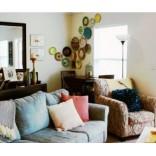 Добавьте цвета; интерьер дома в Новом Орлеане