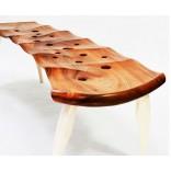 Скамейки для внутренних помещений - интересные примеры с фото