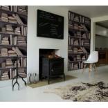 Бумажные обои для стен с имитацией различных покрытий