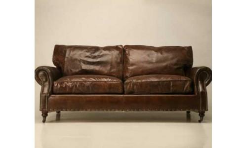 10 моделей кожаных диванов, классических и современных