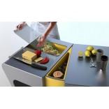 Идеи для маленькой кухни. Модульная мебель