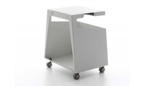 Мебель для современного офиса; тумбочка следует за вами