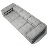 Мягкая софа из отдельных подушек