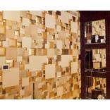 Оформление стен плиткой из кожи