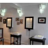 Оригинальные лампы и световые короба от Марка Тротере
