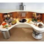 Дизайн современной кухни; форма и содержание