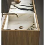 Использование мрамора в оформлении ванной комнаты