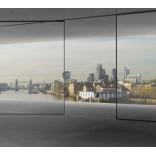 Раздвижные панорамные окна без рам