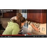 Гибкая плитка или фартук для кухни своими руками за 2 часа