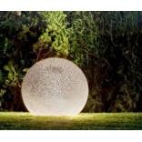 Садовый светильник из керамики