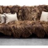 Long Wool Sofa – Американский дуб и исландская овчина