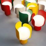 Светильник в форме тюльпана