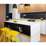 Акценты желтого в интерьере современной квартиры