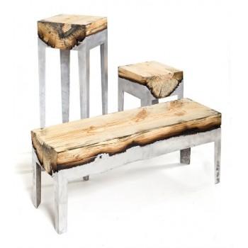 Авторская мебель: сплав металла и дерева