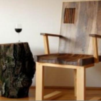 Hrvoje Vulama; авторская мебель из массива дуба