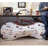 Как красиво хранить велосипед в городской квартире