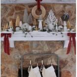 Новогодний декор; идеи и примеры с фотографиями