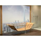 Акриловые ванны с деревянным настилом