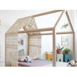 Жизнь в своём домике; оригинальная детская кровать