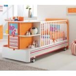 Детские кроватки с ящиками для хранения; 10 примеров с фото