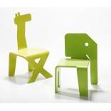 Детские стулья в форме животных