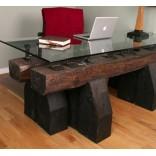 Мебель и предметы интерьера, сделанные вручную из вековых шпал