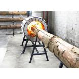 Дровяная печь, для которой не нужно колоть дрова