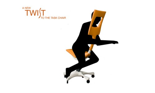 Компьютерное кресло. Концепт Twist