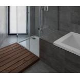 Белый цвет на сером фоне. Интерьер ванной от архитектора Pedro Henrique