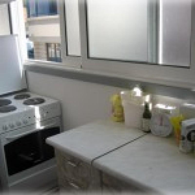 Кухня на лоджии (39 фото): как сделать перенос, вынос своими.