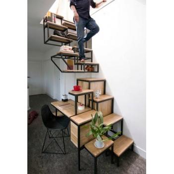 25 идей дизайна интерьера и мебели для экономии места в небольших помещениях