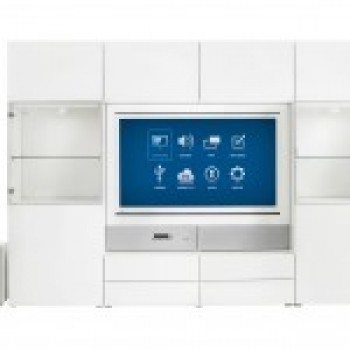 Uppleva встроенный медиа-центр с HD-телевизором от Икеи