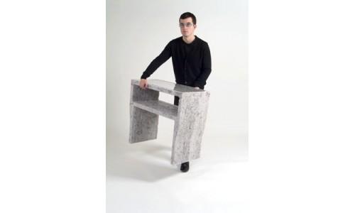 Одноразовая офисная мебель из бумаги