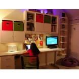 Комната подростка; продуманное, практичное и элегантное решение