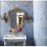 Оригинальная плитка для ванной; интересные примеры с фото