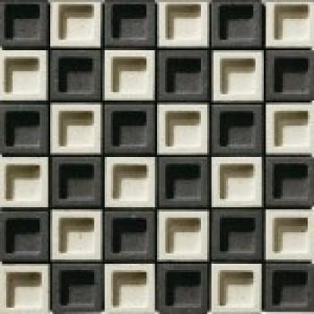 Мозаика из декоративной настенной плитки