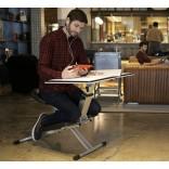 Кресло-стол EDGE – полностью складывается, удобен для спины и умещается под кровать