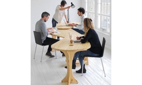 LeafDesk раздвижной письменный стол для совместной работы