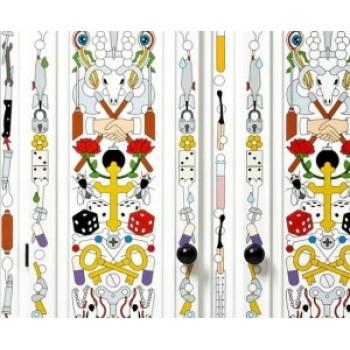 Винтаж и современность; коллекция расписной мебели от Moooi