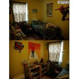 Ремонт детской комнаты, до и после
