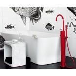 Отдельно стоящий кран смеситель для ванной