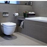 Оттенки серого в дизайне современной ванной комнаты