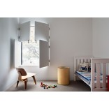 Идеи дизайна интерьера: ставни вместо штор и занавесок