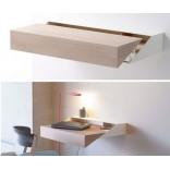 Миниатюрный выдвижной стол-бюро для ноутбука