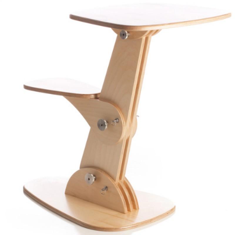 Раскладной компьютерный столик своими руками 59