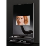 Телевизоры в полупрозрачной панели на заказ