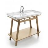 Плоская раковина для ванной