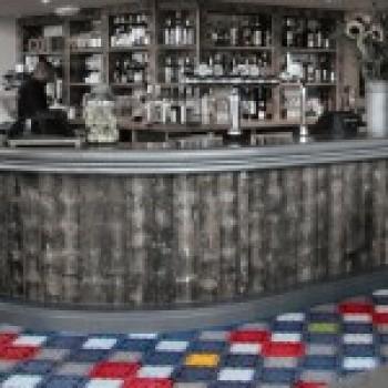 Напольная плитка из цветного бетона